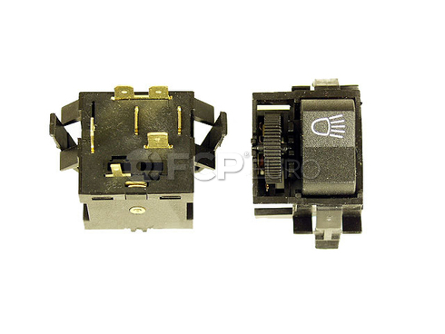 VW Headlight Switch (Rabbit Scirocco Karmann Ghia Super Beetle) - Euromax 133941531B