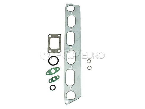 Mercedes Turbocharger Mounting Gasket Set (300CD 300D 300SD 300TD) - Elring 6170900680A