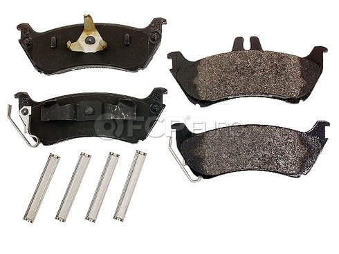 Mercedes Brake Pad Set (ML320 ML350 ML430) - Genuine Mercedes 163420142041