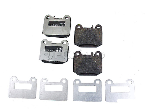 Mercedes Brake Pad Set (ML430 ML500 ML55 AMG) - Genuine Mercedes 163420112041