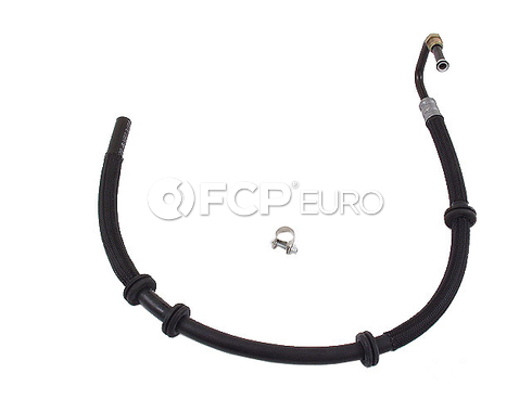 Mercedes Power Steering Pressure Hose (Rack to Radiator) - Genuine 1634605224