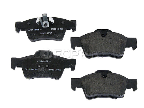 Mercedes Brake Pads Rear - Genuine Mercedes 1644202720