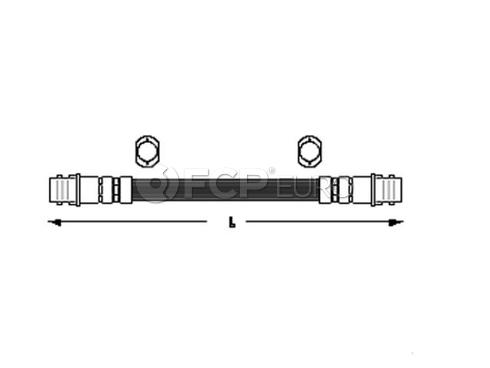 Audi VW Brake Hose - Meyle 6X0611775