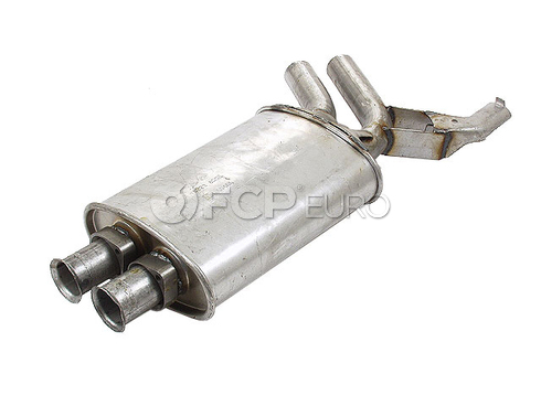 BMW Exhaust Muffler Center (E34 525i) - Ansa 18121719426
