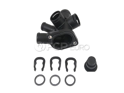 VW Coolant Hose Flange Kit - 037198144J
