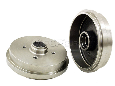 VW Brake Drum Rear (Golf Jetta Cabriolet Fox) - Zimmermann 191501615B