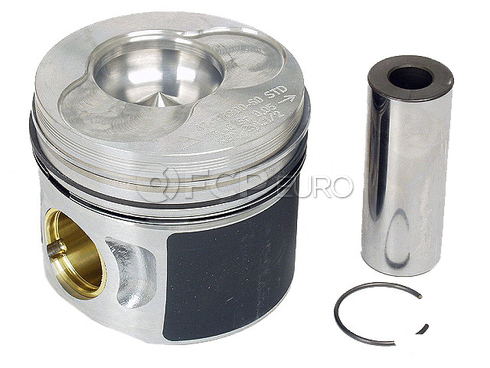 VW Piston w/Rings Standard (Cylinders 1 and 2) - OEM 038107065AA