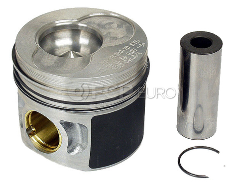 VW Piston w/Rings Standard (Cylinders 3 and 4) - OEM 038107065AB