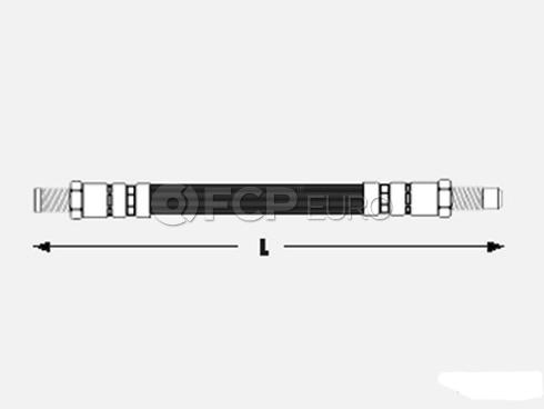 Audi Brake Hose - Meyle 811611775