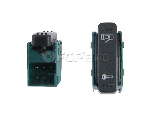 VW Door Lock Switch Left (Beetle) - OE Supplier 1C0962125A