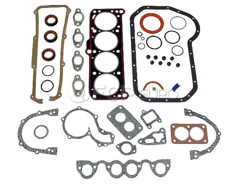 Audi VW Full Gasket Set (Fox 4000 Dasher Scirocco) - Elring 049198001BC