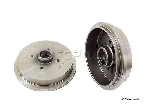 Audi VW Brake Drum Rear - Zimmermann 1H0501615A