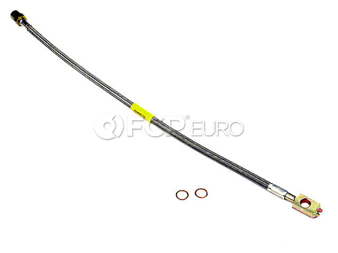 VW Stainless Brake Hose Front - Precise Lines 1H0611701BSS