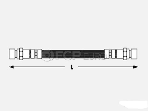 VW Brake Hose Rear - Meyle 1H0611775