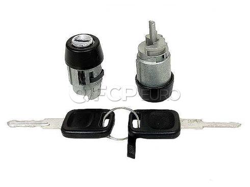 Audi Ignition Lock Cylinder (80 90 100 200) - Genuine VW Audi 893905855A