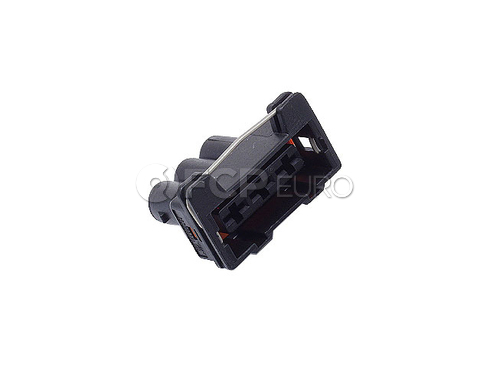 VW Audi Cooling Fan Motor Connector Housing (Golf Jetta Corrado) - Genuine VW Audi 1H0906233