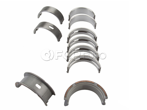 VW Audi Main Bearing Set - Mahle 056198453ABR