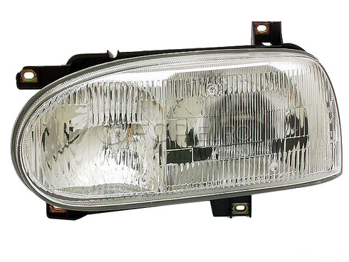 VW Headlight Assembly Left (Golf Cabrio) - Hella 1HM941017A