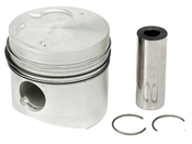 VW Audi Piston w/Rings (4000 Golf Jetta)- Kolbenschmidt 068107081D
