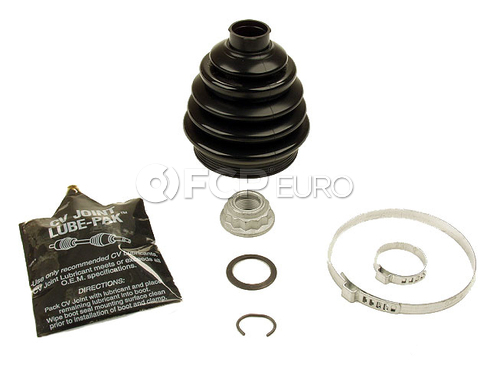 Audi Volkswagon VW CV Joint Boot Kit Outer (TT Quattro Golf) - OEM Rein 1J0498203