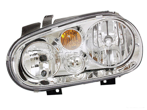VW Headlight Assembly (Cabrio Golf) - Hella 1J0941017D
