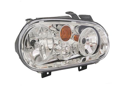 VW Headlight Assembly (Cabrio Golf) - Hella 1J0941018D