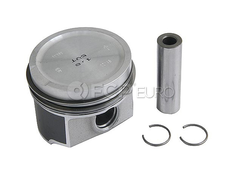Audi VW Piston w/Rings - Mahle 06A107071J