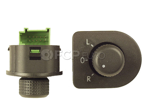 VW Door Mirror Switch (Beetle Jetta Golf) - OE Supplier 1J1959565A