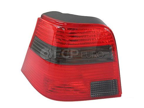 VW Tail Light Lens Left (Golf) - Genuine VW Audi 1J6945095AC