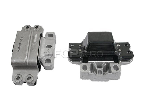 VW Manual Trans Mount Left (Jetta Golf Rabbit) - Lemforder 1K0199555N