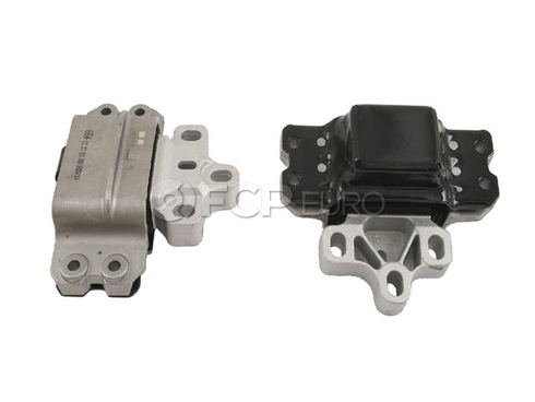 Audi VW Transmission Mount Left (A3 Golf Jetta) - Lemforder 1K0199555Q