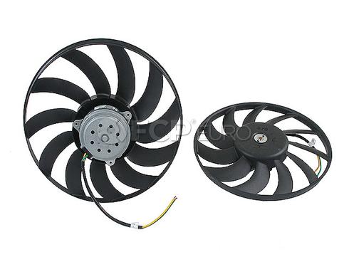 Audi Cooling Fan Motor Left (A6 Quattro A6 A4 Quattro A4) - Valeo 8E0959455A