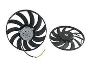 Audi Cooling Fan Motor - Valeo 8E0959455A