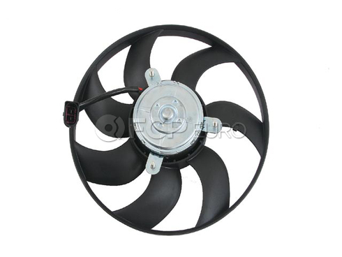 VW Auxuiliary Fan Assembly 295mm Right (Jetta TDI) - Behr 1K0959455ES