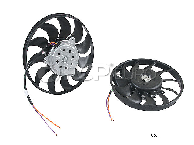 Audi Cooling Fan Motor - Valeo 8E0959455N