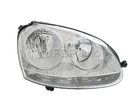 VW Headlight Assembly - Hella 1K6941006S