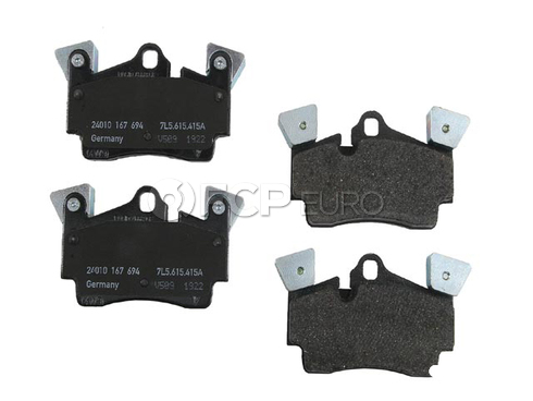 Porsche Brake Pad Set (Cayenne) - Genuine Porsche 95535293950OE