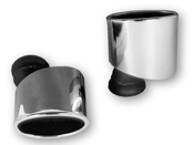 Porsche Exhaust Tail Pipe Chrome Tip (911) - Dansk 99311125010DPS