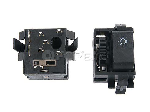 VW Headlight Switch (Dasher Vanagon Transporter) - Meyle 251941531M
