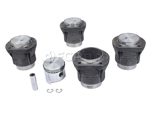 VW Piston Set (Beetle Transporter Thing) - Mahle 311198069F