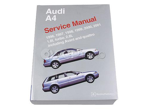 Audi Repair Manual (A4) - Bentley A401