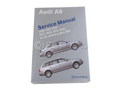 Audi Repair Manual (A6 RS6 S6) - Bentley A604