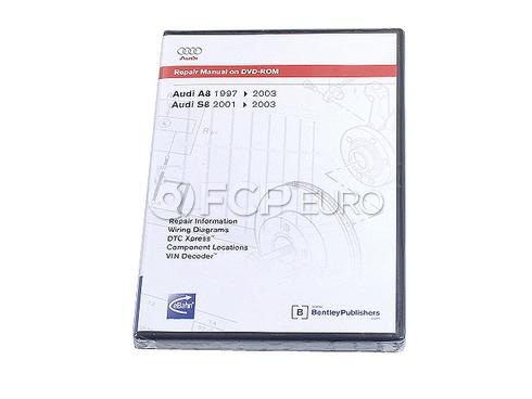 Audi Repair Manual On CD-ROM (A8 S8) - Bentley AD25