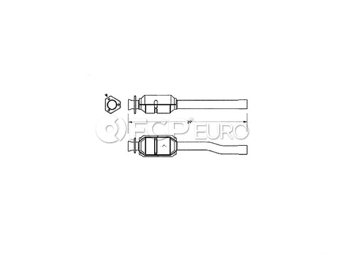 Land Rover Catalytic Converter (Range Rover) - Carsound NTC3949
