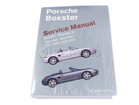 Porsche Repair Manual (Boxster) - Bentley PB04