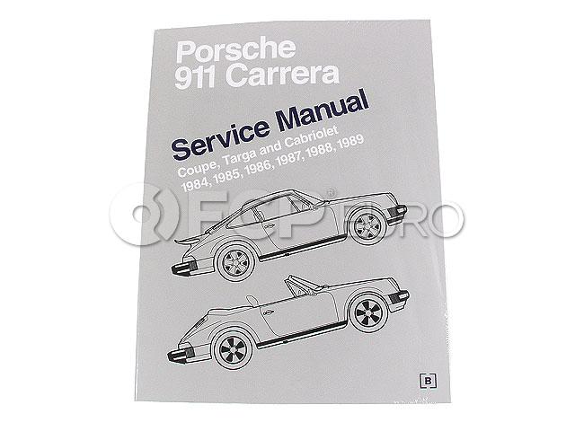 Porsche Repair Manual Bentley P989
