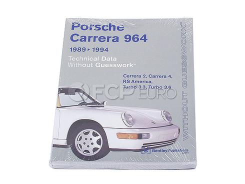 Porsche Bentley Technical Data Handbook (911 Carrera) - Bentley PC94
