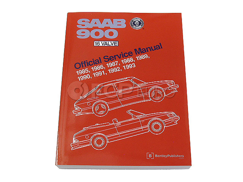 Saab Repair Manual (900) - Bentley S993