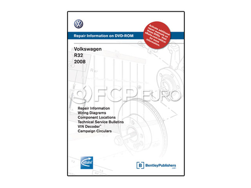 VW CD-ROM Repair Manual (R32) - Bentley VAR8