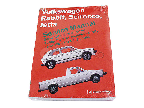 VW Repair Manual (Jetta Rabbit Scirocco) - Bentley VRG4